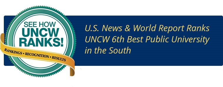 UNCW is the South's 6th best public University