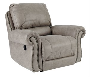 Olsberg Upholstered Rocker Recliner Steel