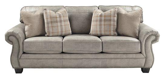 Olsberg Upholstered Sofa Steel