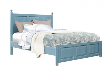 Beachfront Queen Bed Ocean Blue
