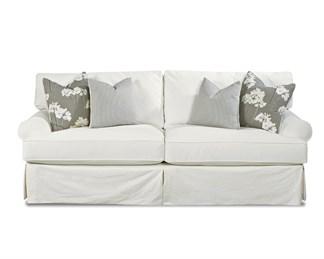 Lahoya Upholstered Slip Cover Loveseat