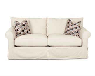 Jenny Upholstered Slip Cover Queen Sofa Sleeper