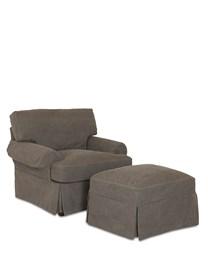 Lahoya Upholstered Slip Cover Chair