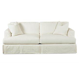 Bentley Upholstered Slip Cover Sofa