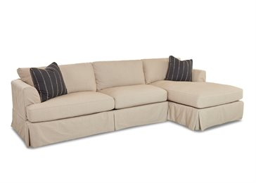 Bentley Upholstered Slip Cover Sectional