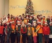 Lincoln Heights elementary school chorus