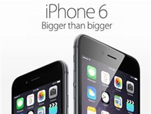 Apple® iPhone® 6 and 6 Plus, bigger than bigger