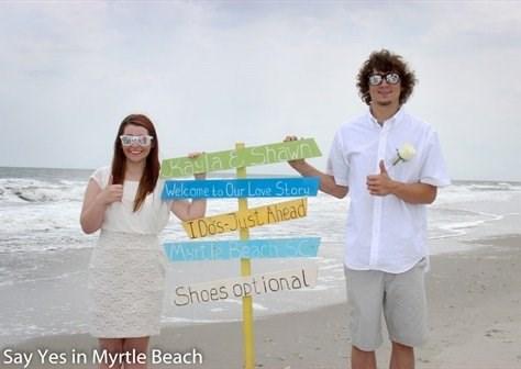 ocean front ceremony