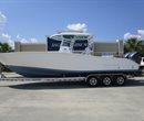 2018 Cape Horn 31T Navy Bottom All Boat