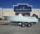 2017 Key West 203 FS Sea Foam Green All Boat