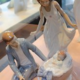 Lladro Caring Father available at Albert F. Rhodes Jewelers