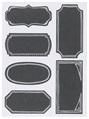 Chalkboard Label Set/18 Large