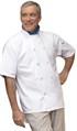 Chef Coat South Beach Wh 2XL