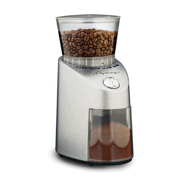 Carolina Coffee Capresso Infinity Conical Burr Grinder - Zinc Die Cast Housing