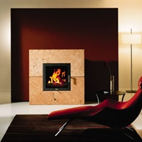 Bordeaux ZC wood fireplace