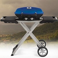 Napoleon TRAVELQ™ 285 WITH SCISSOR CART IN BLUE