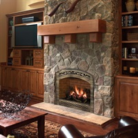 FPX 864HO gas fireplace