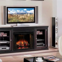 "Classic Flame ""Fireplace Solutions"" electric log set"