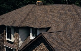 Landmark™ TL Impact Resistant Shingles - Color: Burnt Sienna