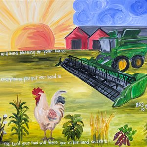 Farm 1 JD Tractor