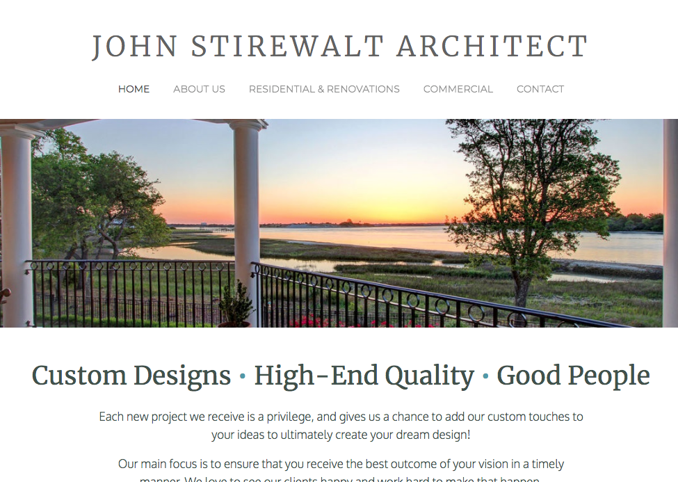 JOHN STIREWALT ARCHITECT