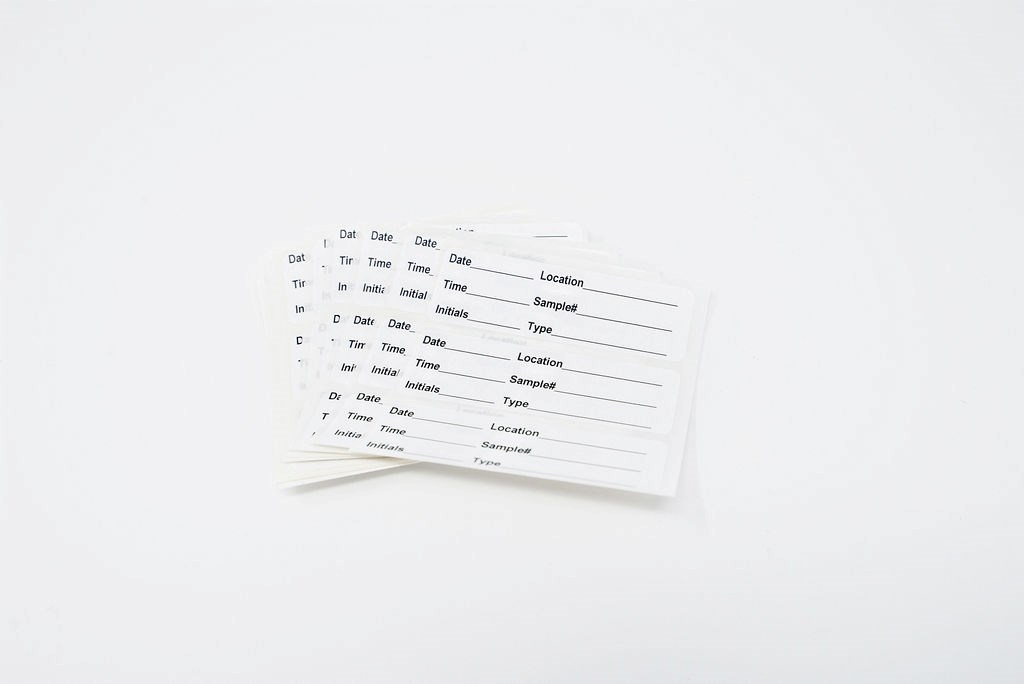 Sample Labels, 30/PK (Standard)