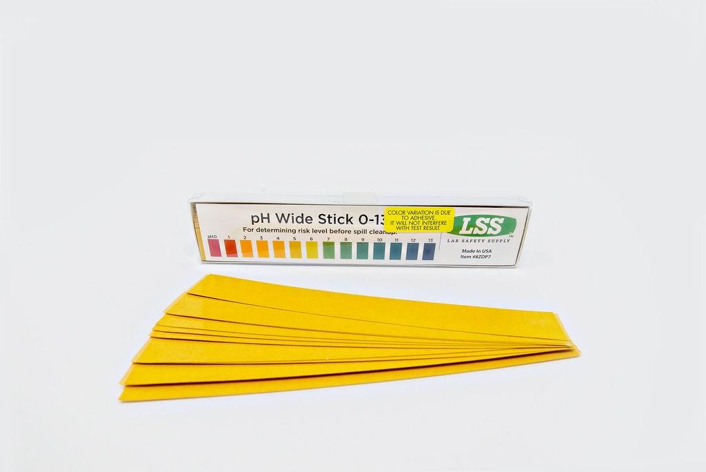 Wide Sticky Back pH, 25/PK