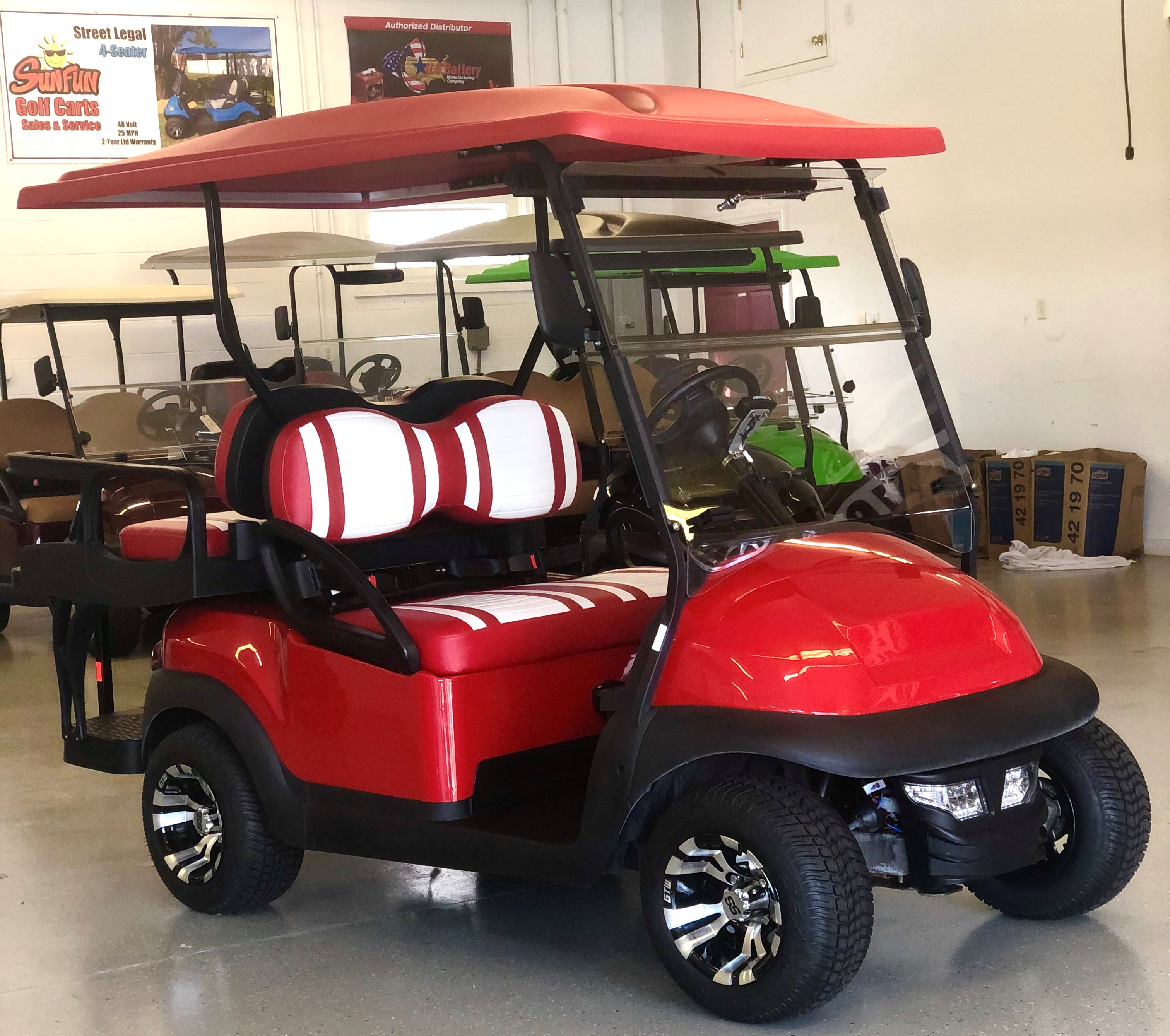2021 CLUB CAR PRECEDENT 4 PASSENGER