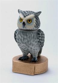 BHC - Owl American Bobblehead Mascot