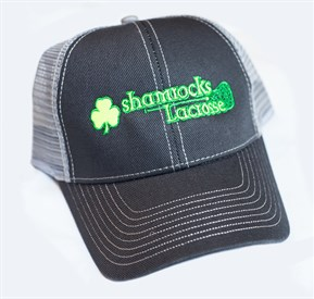 HAT - Trucker Hat with Shamrocks logo