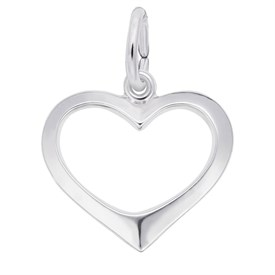 SHC - Sterling Silver Heart Charms