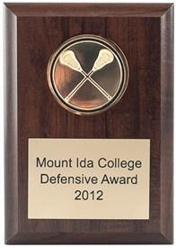 NC46 Lacrosse Medallion Plaque