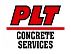PLT Concrete Services Logo