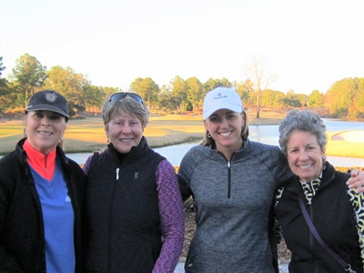 Paula Manuelle, Deborah Altman, Dana Johnson, Suzee Louis - 2018 Pro Appreciation Low Gross Flight 3