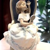 Lladro Awaiting My Sweetheart available at Albert F. Rhodes Jewelers
