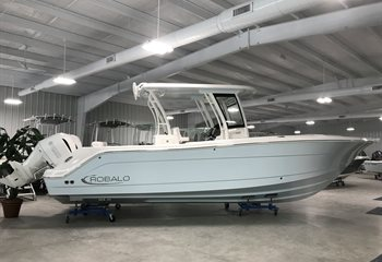 2021 Robalo R302 Ice Blue  Boat