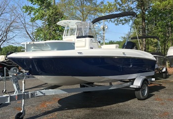 2021 Bayliner Element F18 Blue/White  Boat