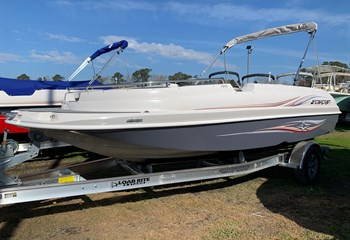 2021 Starcraft 1915 Limited OB Gray/White  Boat