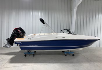 2021 Bayliner VR4 Blue/White Boat