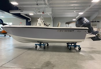 2021 Key West 176 CC Sportsman Manta Gray Boat