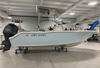 2021 Key West 203 FS Ice Blue/White Boat