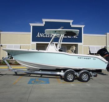 2019 Key West 239 FS Sea Foam Green liquid-unknown-field [type] Boat