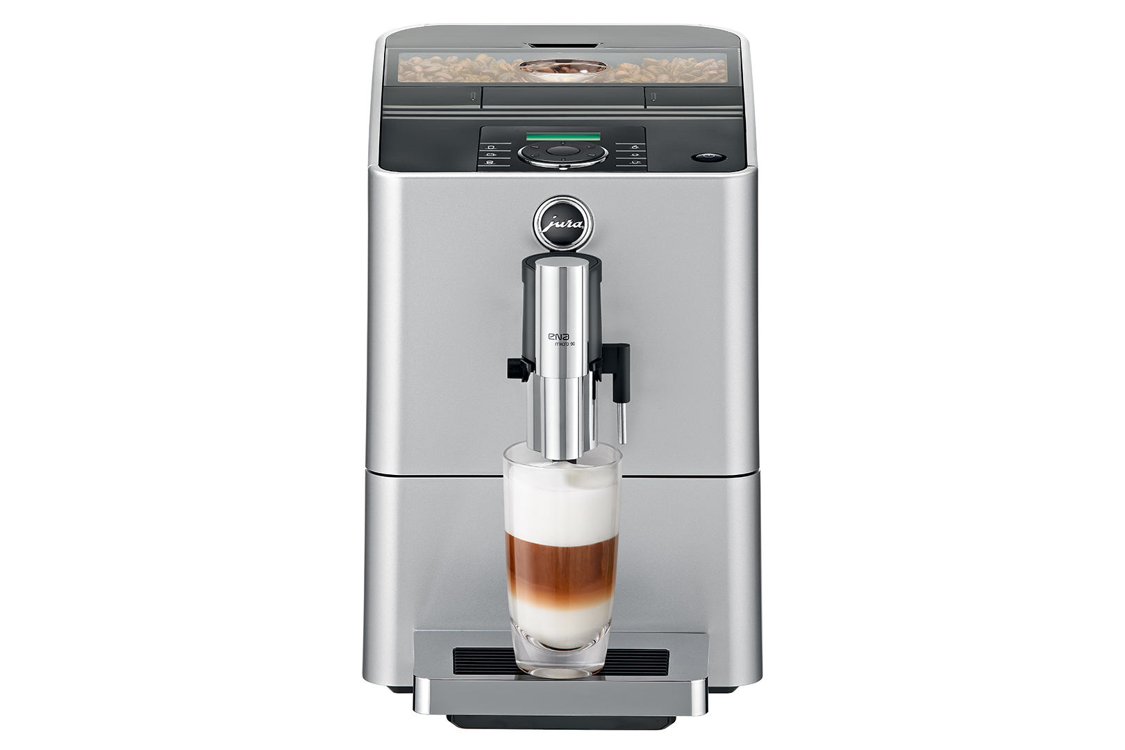 Carolina Coffee Jura ENA Micro 90 - Micro Silver
