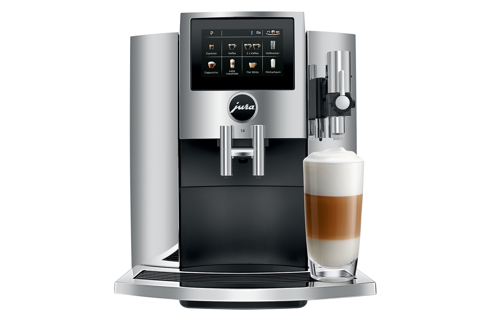 Carolina Coffee Jura S8 Chrome