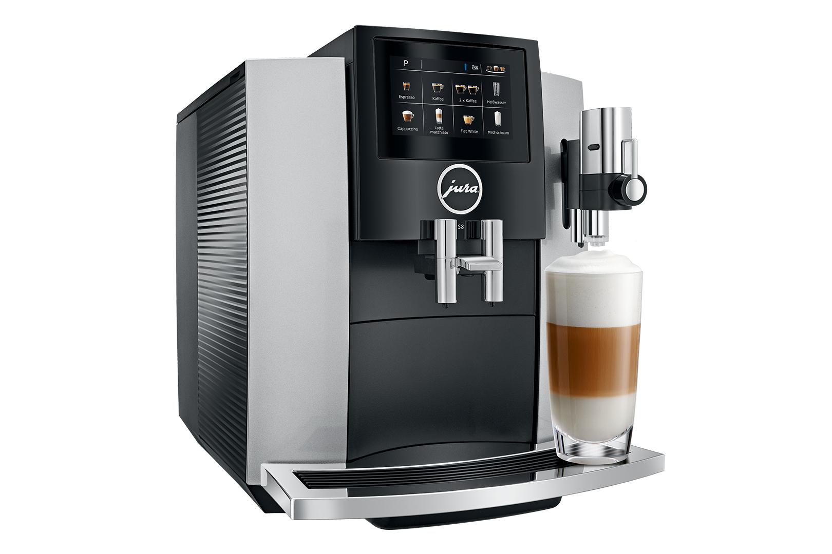Carolina Coffee Jura S8 Moonlight Silver