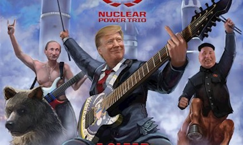International Supergroup Nuclear Power Trio Release